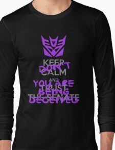 DON'T Keep Calm Long Sleeve T-Shirt