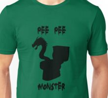 Pee Pee Monster (with text) Unisex T-Shirt