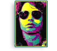 ROCK GOD - bright colors Canvas Print