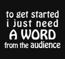 A Word from the Audience by OverCommitted