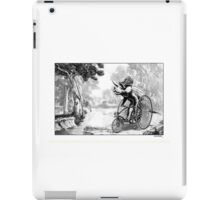 Triceratops on a Tricycle iPad Case/Skin