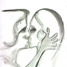 The Kiss by Peter Searle ( the Elder )