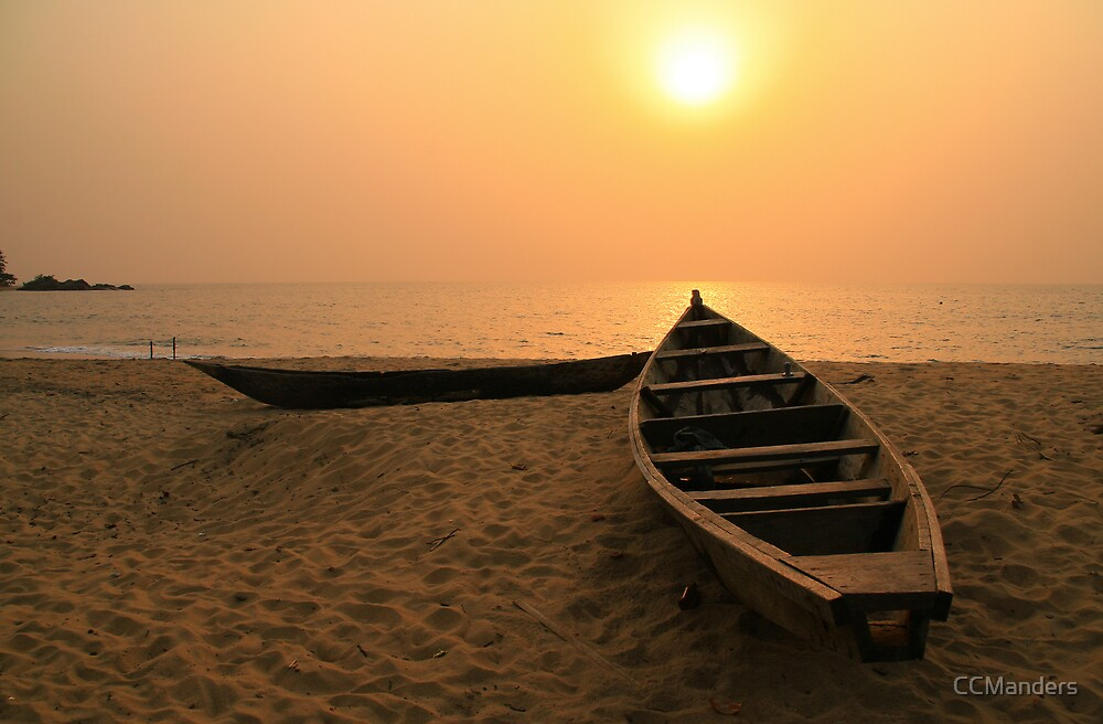Kribi Sunset by CCManders