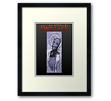 EWETTER COVER DESIGN Framed Print
