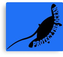 Protect the Ocean Canvas Print