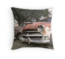 Rusty Retirement Throw Pillow