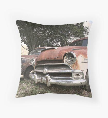 Rusty Retirement Throw Pillow