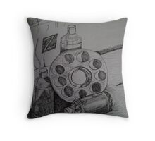 Paint It Up Throw Pillow