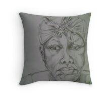 Raggie Mae Throw Pillow