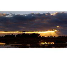 Sunrise at the Base Photographic Print