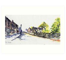 The Fleet, Belper, Derbyshire Art Print