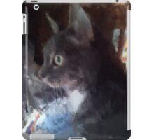 Misty oil on canvas iPad Case/Skin