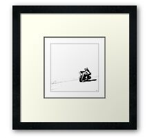 Peace of the Road Framed Print