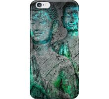Prayers cyangreen iPhone Case/Skin