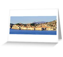Dubrovnik, Jewel of the Adriatic Greeting Card