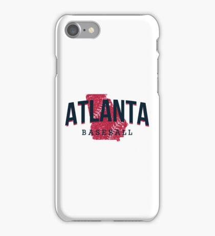 Atlanta Pride - Baseball 3 iPhone Case/Skin