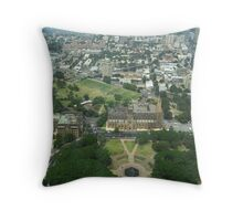Above St Mary's Cathredral Throw Pillow
