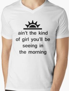 The Weeknd - The Morning Mens V-Neck T-Shirt