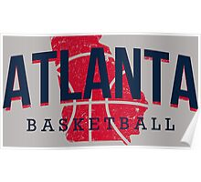 Atlanta Pride - Basketball Poster