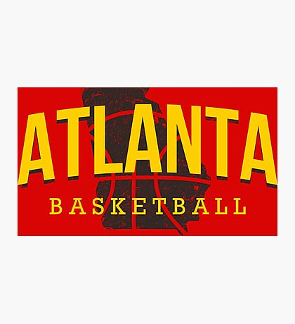 Atlanta Pride - Basketball 2 Photographic Print