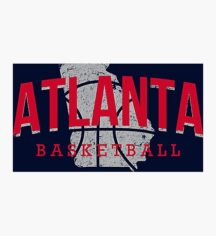 Atlanta Pride - Basketball 3 Photographic Print