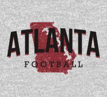 Atlanta Pride - Football by JayJaxon