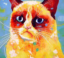 Grumpy Cat by Sandra Trubin