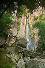 Barbennaz waterfall by Patrick Morand