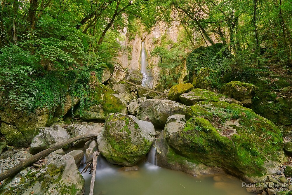 Going to Barbennaz waterfall by Patrick Morand