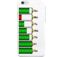 FG-Z1 (Battery for a week) iPhone Case/Skin