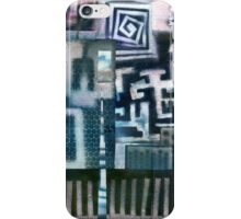 Industrial Urban - Collaged Solar Prints iPhone Case/Skin