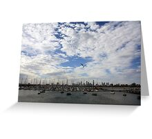 City View Colour Greeting Card