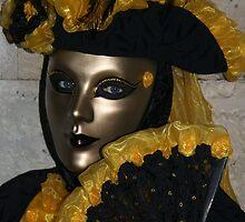 Venetian masks by Keith Jones