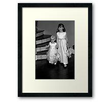Wedding Children Framed Print