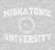 Miskatonic University (white version) by cisnenegro