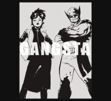 GANGSTA X-MEN (JUBILEE & WOLVERINE) Threshold  T-Shirt