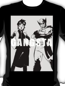 GANGSTA X-MEN (JUBILEE & WOLVERINE) Threshold  T-Shirt
