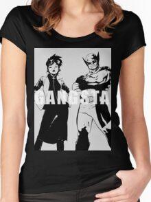GANGSTA X-MEN (JUBILEE & WOLVERINE) Threshold  Women's Fitted Scoop T-Shirt