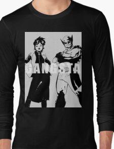 GANGSTA X-MEN (JUBILEE & WOLVERINE) Threshold  Long Sleeve T-Shirt