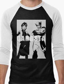 GANGSTA X-MEN (JUBILEE & WOLVERINE) Threshold  Men's Baseball ¾ T-Shirt