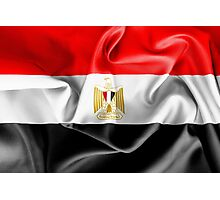 Egypt Flag Photographic Print
