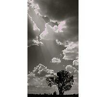 Central Australia Skyscape Photographic Print