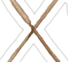 Crossed Arrows Sticker