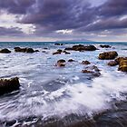 Pukerua Bay Backwash by Ken Wright