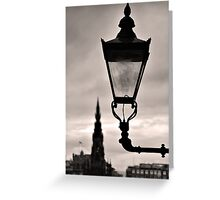 Lighting Up Edinburgh Greeting Card