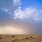 Desert rain is coming! Tunisia by guyp