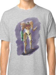 Samus Aran - Bounty Hunter Classic T-Shirt