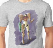 Samus Aran - Bounty Hunter Unisex T-Shirt