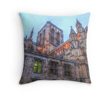York Minster Throw Pillow