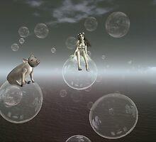 Floating by AshLeShelle